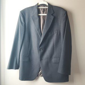 Brooks Brothers 346 Blue Wool Blazer | 44R